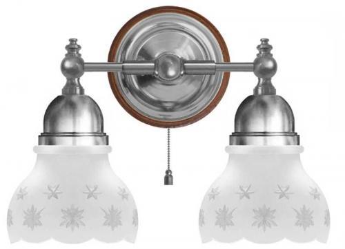 Wall Lamp - Bergman nickel, matte glass
