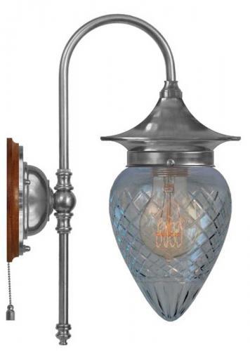 Wall lamp - Fryxell nickel clear drop