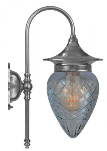 Wall lamp - Fryxell nickel clear drop