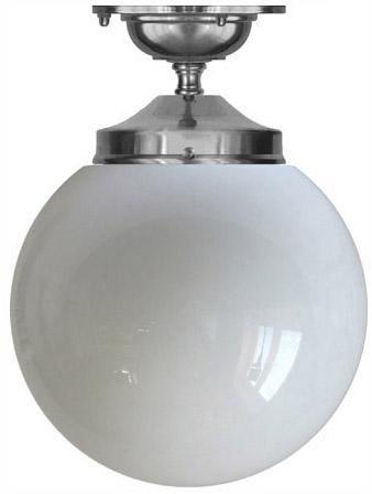 Bathroom Lamp - Ekelund 100 ceiling lamp nickel