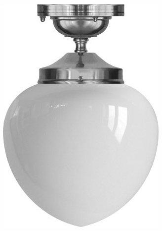 ... taklampa ekelundsfäste 100 droppe förnicklad klassisk taklampa för