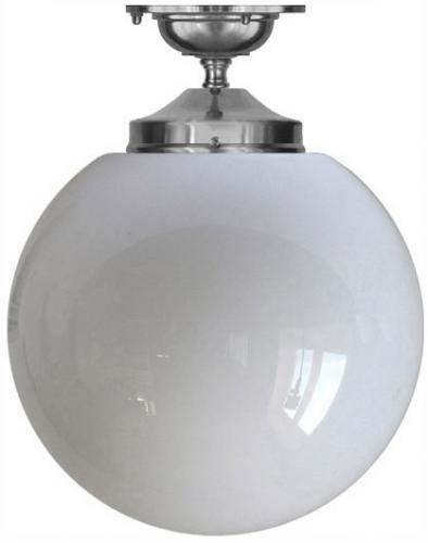 Bathroom Lamp - Ekelund 100 ceiling lamp nickel - old style - classic interiro - vintage style