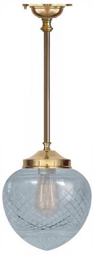 Badrumslampa - Ekelundspendel 100 klardroppe - gammaldags stil - klassisk