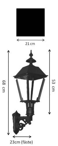Exterior Lamp - Wall lantern Sollerö L4