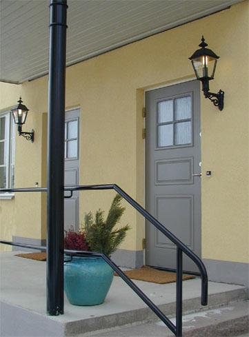Utomhuslampa - Fasadlykta Sollerö L4 - sekelskifte - gammal stil