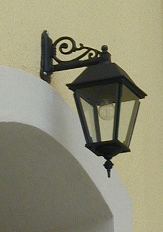 Utomhuslampa - Fasadlykta Sollerö L4 hängande - gammaldags stil - sekelskifte