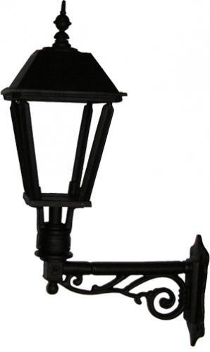 Utomhuslampa - Fasadlykta Solgård L4 - klassisk inrending - gammaldags stil