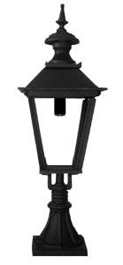 Klassisk utomhuslampa - Belysning på grindstolpe, Skene L4