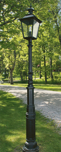 Exterior Lamp - Lamp-post Ljuså S4