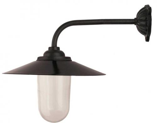 Exterior Lamp - Stable lamp 90°, black shade