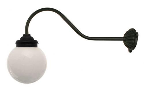 Exterior Lamp - Courtyard lamp 90° hook