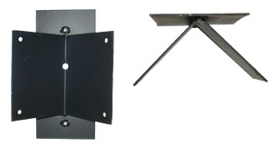 Corner wall mount - For station and stable lamps