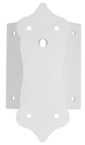 Corner wall mount - For Sollerö and Solgård, white