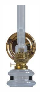 Gammaldags fotogenlampa - Stumholmslampett med reflektor