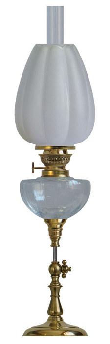 Fotogenlampa - Kurrholmslykta - gammal stil - klassisk stil