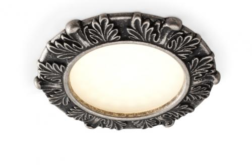 Spotlight - Leaf decor, antique silver