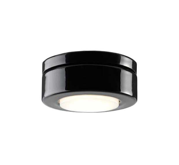 Spotlight - Black porcelain IP23