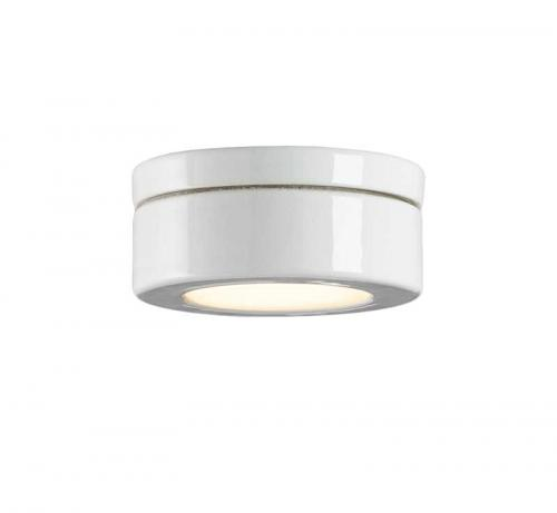 Spotlight - White porcelain IP23