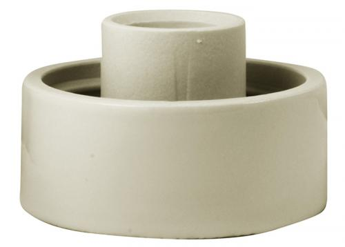 Porcelain light fixture base IP20 - White/vertical