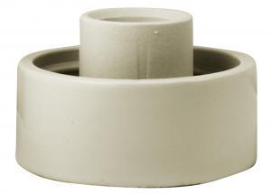 Lampsockel porslin - Vit/rak IP20 - gammaldags inredning - retro - klassisk stil - gammal inredning