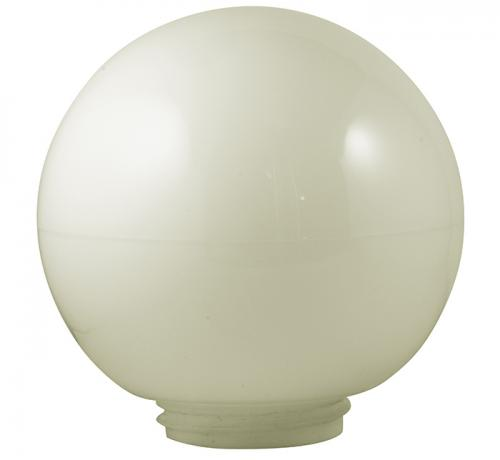 Glass globe - Opal white 180 mm