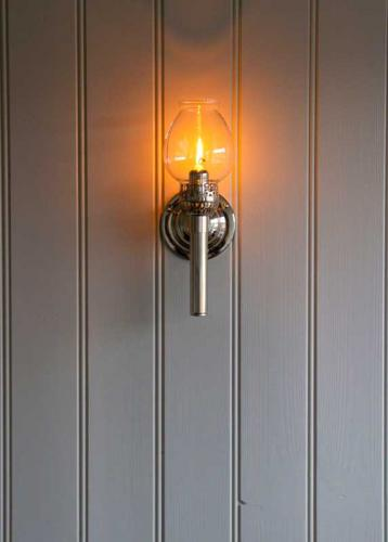 Wall candle holder - Karlskrona wall sconce, nickel