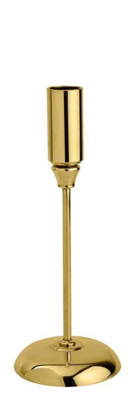 Candlestick brass - Vidi 20 cm