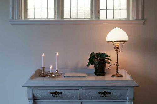 Ljusstake mässing - Bordsljusstake liten
