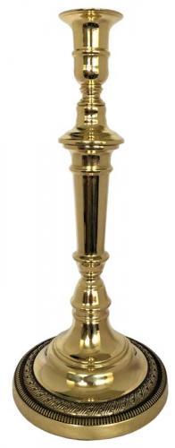 Candlestick brass - Candelabrum - 30 cm