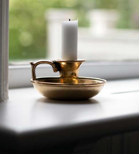 Candlestick - Marstrand brass