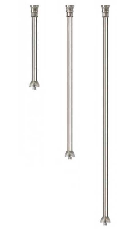 Extension pipe for pendants - Nickel