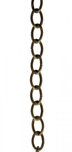Extension chain antique brass - 1 m