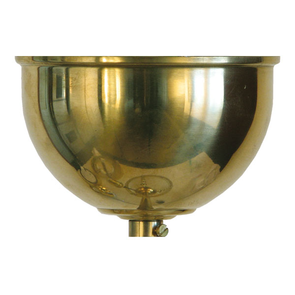Ceiling Cup for lamps - Brass