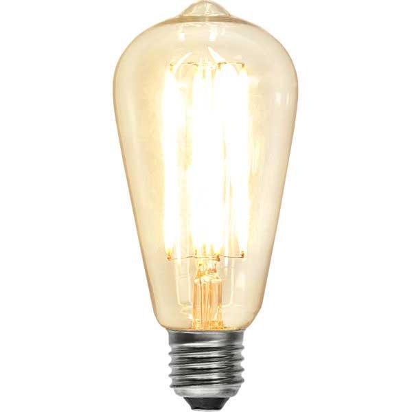LED bulb - Drop 64 mm, 600 lm