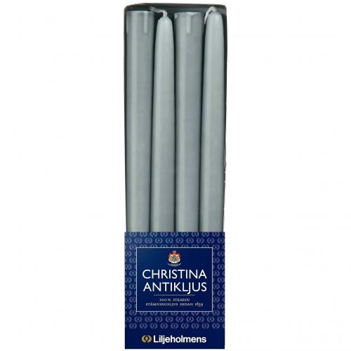 Liljeholmens Christina antique candle 8-p Grey