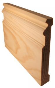 Floor trim - Tradition 145 mm