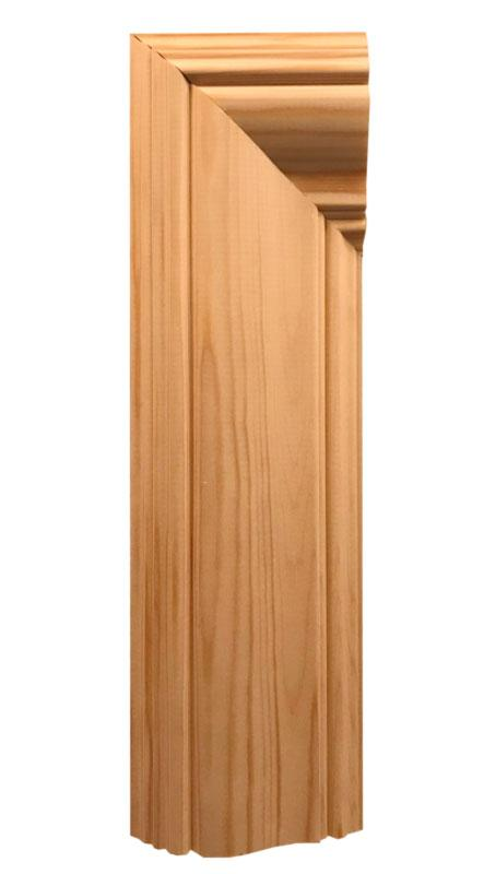 Art Neuveau style door and window architrave. Time period 1905-1915 - old style - vintage - classic interior - retro