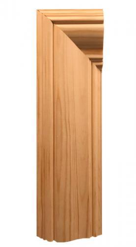 Dörr- och fönsterfoder i klassisk jugendstil. Tidsperiod 1905-1915 - sekelskifte - gammaldag stil - klassisk inredning - retro