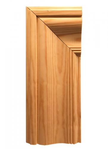 Classic architrave. Late 1800s to early 1900s - old style - vintage - classic interior - retro