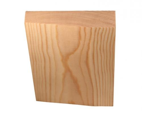 Architrave plinth block - Universal 24x97 mm - old fashioned style - vintage interior - oldschool