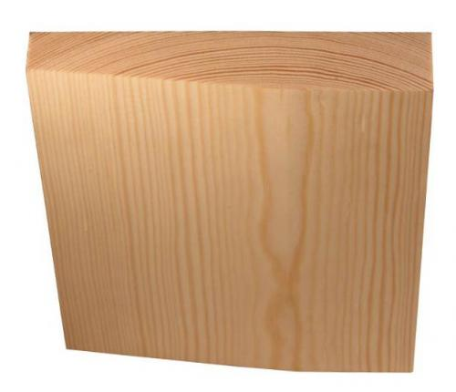 Architrave plinth block - Universal 24x123 mm