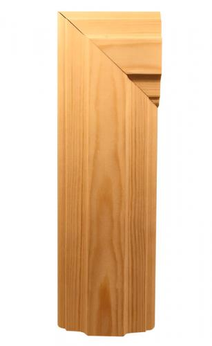Architrave - 20 x 90 mm. Time period: 1910-1920 - old style - vintage - classic interior - retro