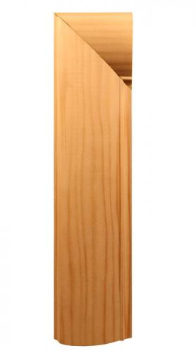 Classic architrave made of pine. Swedish grace period 1920s-1930s - old style - vintage - classic interior - retro