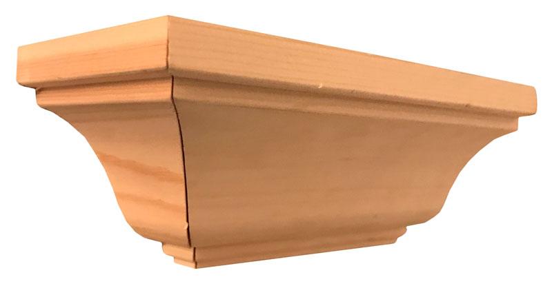 Klassisk krönlist och taklist furu - Sekelskifte - 105 mm - sekelskifte - gammaldag stil - klassisk inredning - retro