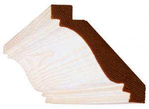 Crown molding / cornice pine - Sekelskifte