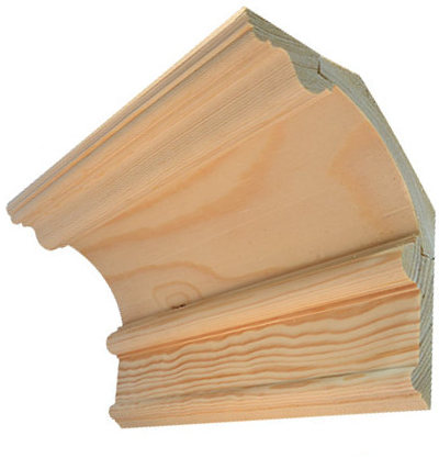 Wood cornice - Three-piece Byggmästarn
