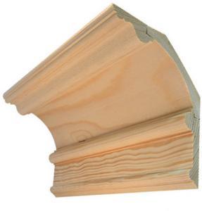 Wood cornice - Three-piece Byggmästarn
