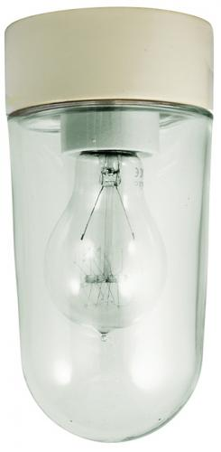 Porcelain light fixture IP20 - White/vertical