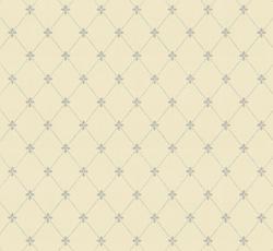Wallpaper - Filipsborg vit/blå