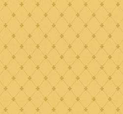 Wallpaper - Filipsborg gul/guld